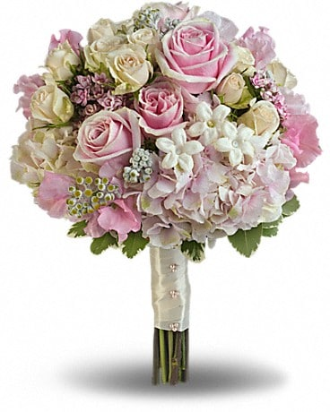 Pink Rose Splendor Bouquet Bouquet