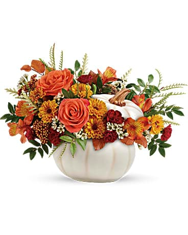 Spring Garden's Enchanted Harvest Bouquet Flower Arrangement