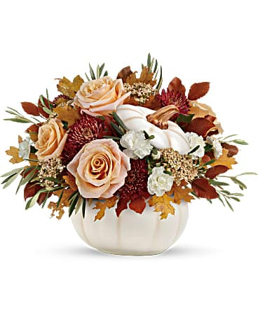 Teleflora's Harvest Charm Bouquet Flower Arrangement