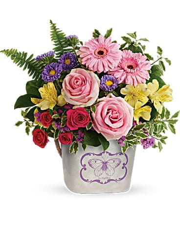 Teleflora's Backyard Butterfly Bouquet Bouquet