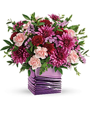 Quick View Telefloras Liquid Lavender Bouquet