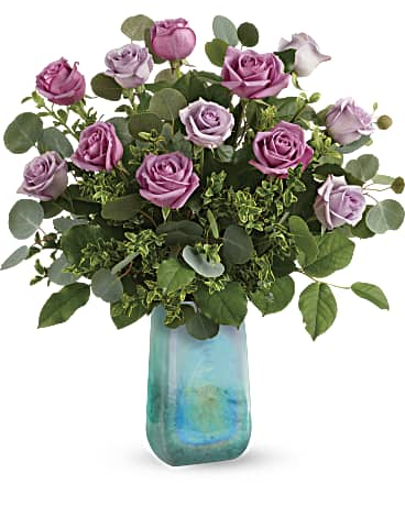 Teleflora's Watercolor Roses Bouquet Bouquet