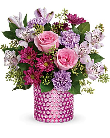 Teleflora's Bubbling Over Bouquet T19S100A