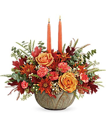 Artisanal Autumn Centerpiece Bouquet