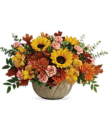 Teleflora's Autumn Sunbeams Bouquet