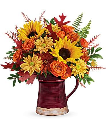Teleflora's Bounty Of Blooms Bouquet Bouquet