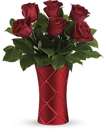 Teleflora's Crimson Luxury Bouquet Bouquet