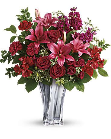 Teleflora S Sterling Love Bouquet In Medford Ma Capelo S