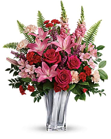 Valentine's Day Flowers - Teleflora's Elegant Adoration Bouquet