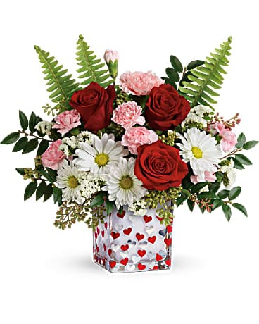 Teleflora's Pop Hearts Bouquet Bouquet