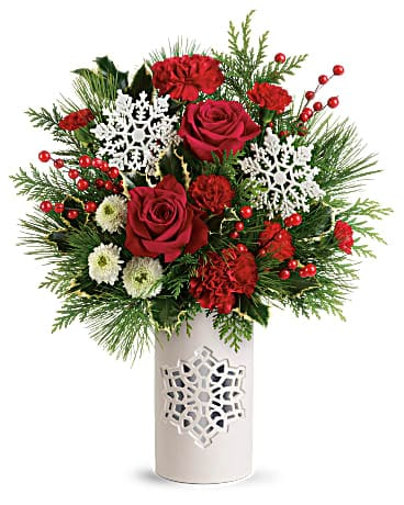 Teleflora's Flurry Of Elegance Bouquet Bouquet