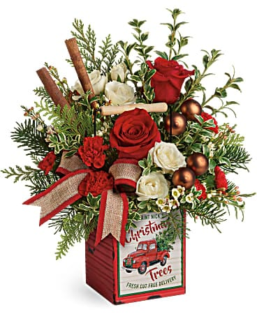 Teleflora's Quaint Christmas Bouquet