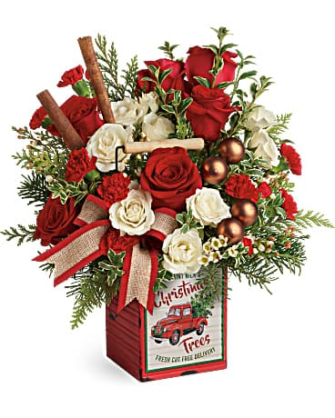 Teleflora's Quaint Christmas Bouquet Bouquet
