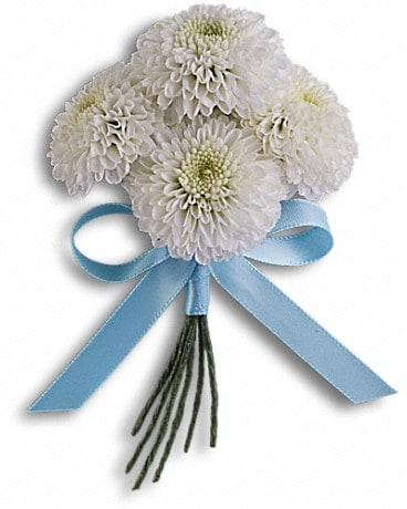 Country Romance Boutonniere Boutonniere
