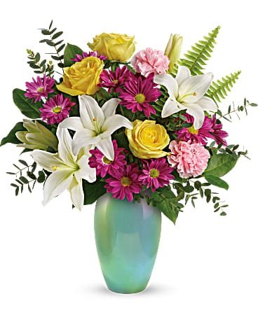Aqua Artistry Bouquet from Agnew Florist Bouquet