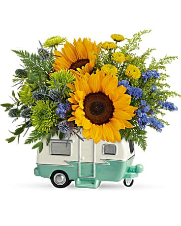 Teleflora's Retro Road Tripper Bouquet Bouquet