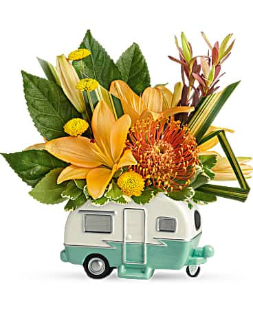 Teleflora's Vintage Vacationer Bouquet