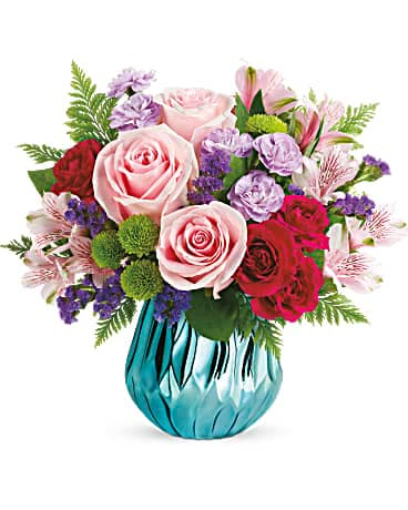 Teleflora's Sparkle And Bloom Bouquet Bouquet