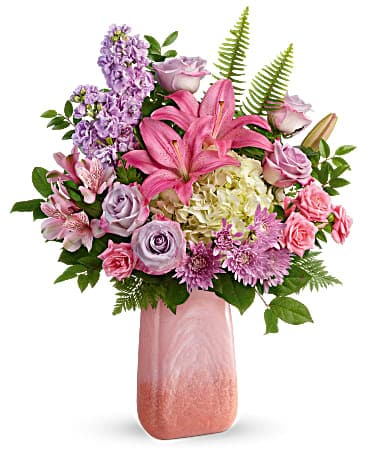 Teleflora's Pleasing Pastels Bouquet
