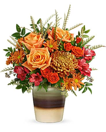 Teleflora's Autumn Gifts Bouquet