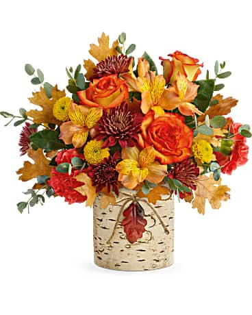 Gordon Bonetti's Autumn Colors Bouquet