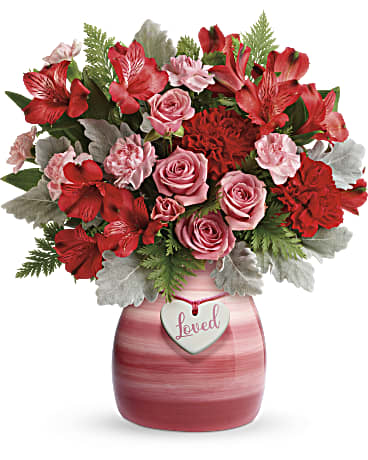 Teleflora's Playfully Pink Bouquet - T20V300