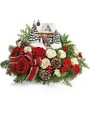 Thomas Kinkade's Homecoming Hero Bouquet Bouquet