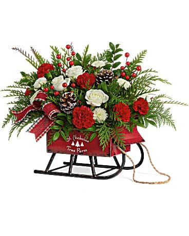 Teleflora's wintery wishes