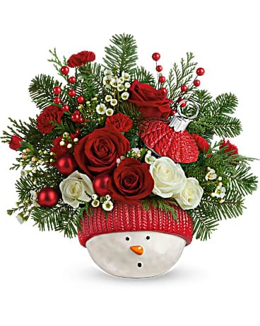 Teleflora's Winter Fun Ornament Bouquet