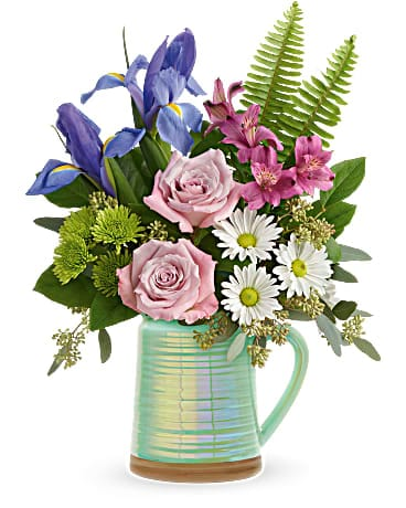 Teleflora's Spring is Served Bouquet