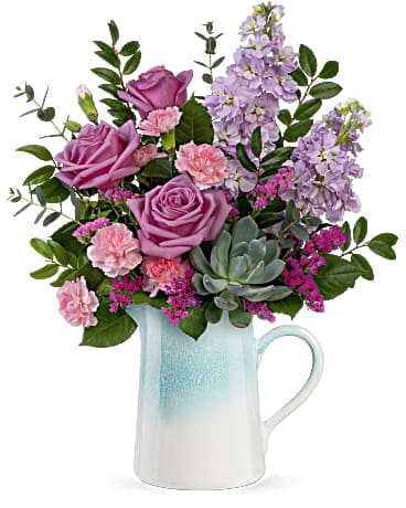 Teleflora's Farmhouse Chic Bouquet Flower Arrangement