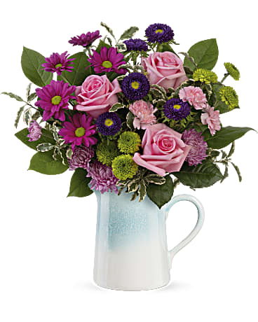 Teleflora's Modern Country Bouquet Flower Arrangement