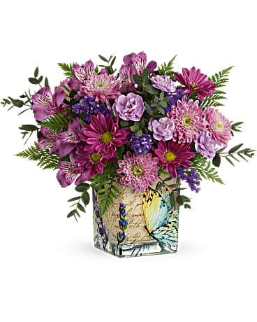 Teleflora's Winged Whimsy Bouquet Bouquet