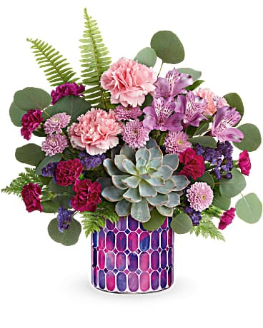 Teleflora's Bedazzling Beauty Bouquet