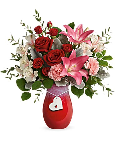 Teleflora's Charmed in Love Bouquet Bouquet