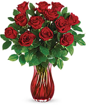 Teleflora's Romantic Twist Bouquet Bouquet