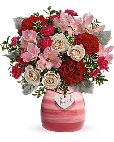 Teleflora's Painted in Love Bouquet Bouquet