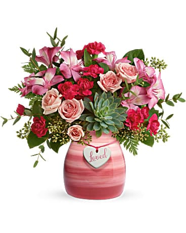 Teleflora's Cross My Heart Bouquet