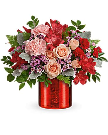 Teleflora's Red Hot Love Bouquet Bouquet