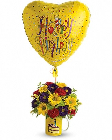 Teleflora's Hooray for Birthday Bouquet