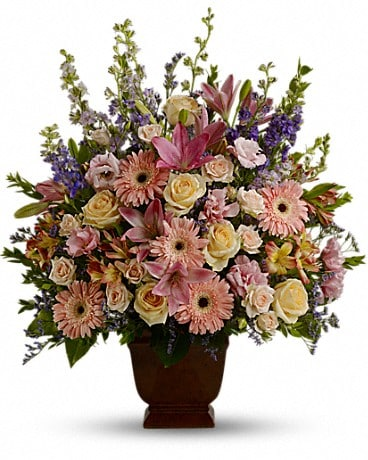 Loving Grace Funeral Bouquet Flower Arrangement