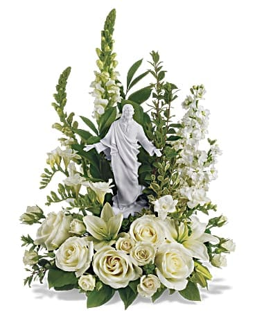 Teleflora's Garden of Serenity Bouquet Flower Arrangement