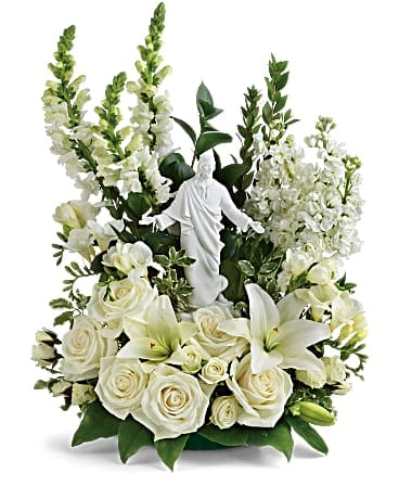 Teleflora's Garden of Serenity Bouquet T229-1A Flower Arrangement