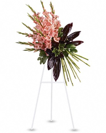 Elegant Tribute Spray Sympathy Arrangement