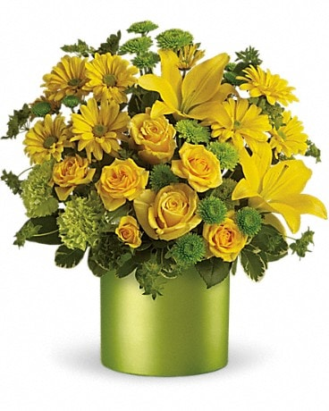 Teleflora's Say It With Sunshine Flower Arrangement