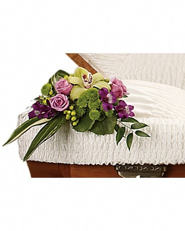 Dearest One Casket Insert Sympathy Arrangement