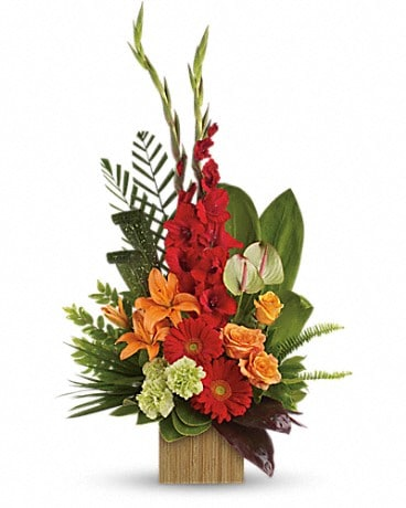 Heart's Companion Bouquet by Teleflora Flower Arrangement
