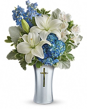 Teleflora's Skies Of Remembrance Bouquet Bouquet