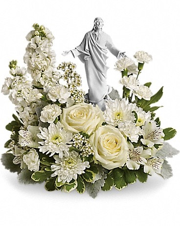 Forever Faithful Bouquet Flower Arrangement