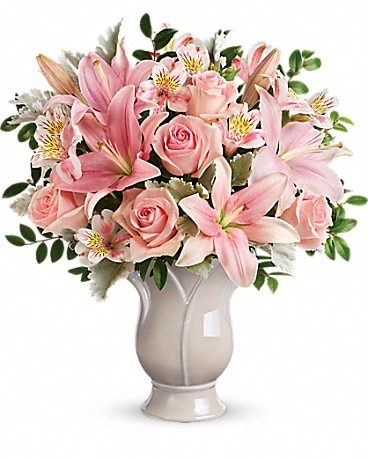 Teleflora's Soft And Tender Bouquet Bouquet